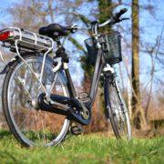 E-bike op de zaak